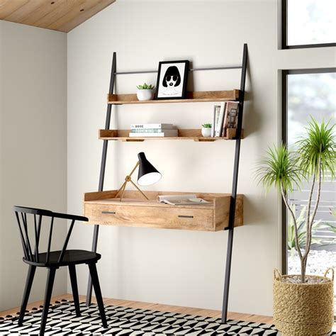 Leaning Ladder Desk Plans