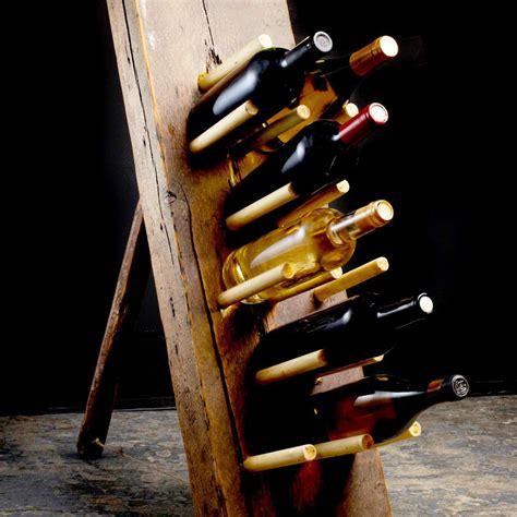 Leaning-Wooden-Wine-Rack-Plans