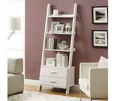 Best Leaning shelf white