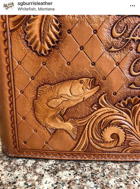 Leather Carving Patterns Fish