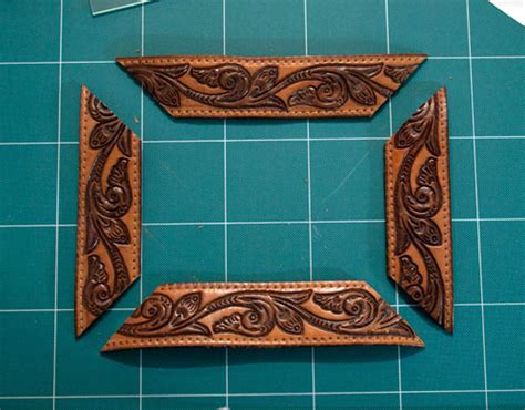 Leather Picture Frame DIY