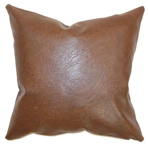 d93d95b8 12 Best Leather Throw Pillows Images Cushions, Leather Pillow.