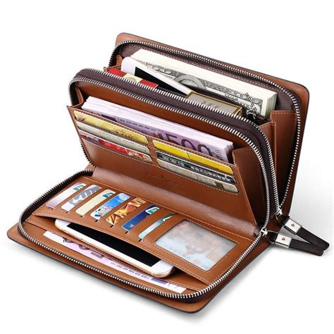 Leather Wallet Planner