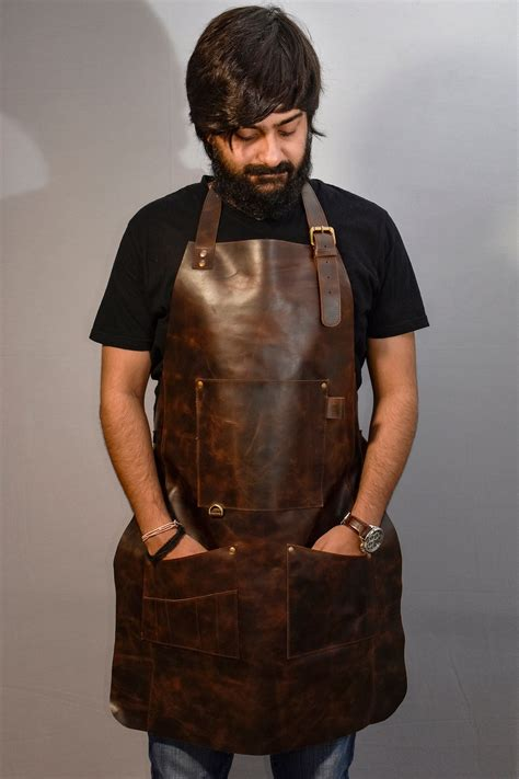 Leather-Woodworking-Apron-Australia