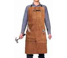 Best Leather wood shop aprons
