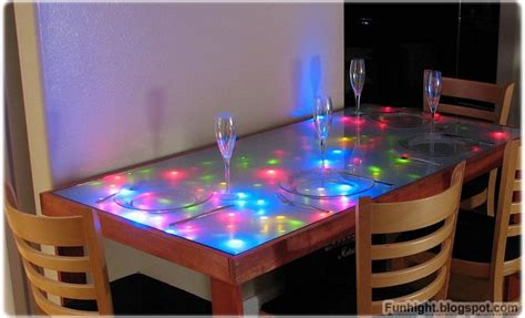 Led Coffee Table Diy Restoration