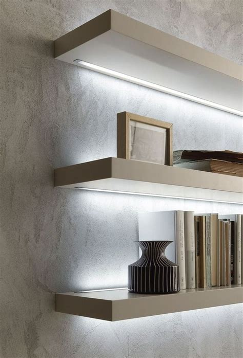 Led Floating Shelves Diy