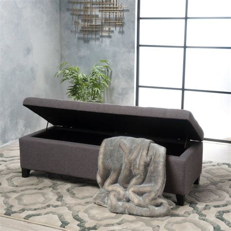 Ledger Tufted Storage Ottoman By Ivy Bronx