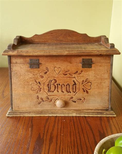 Lee S Wood Projects Vintage Bread Box