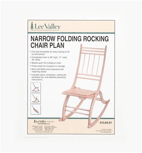 Lee Valley Rocking Chair Plans