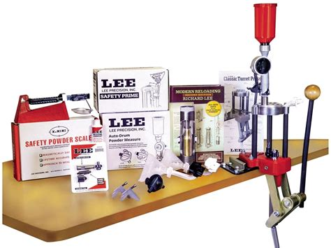 Lee Deluxe Turret Press Reloading Kit And Sks Rifle Folding Stock
