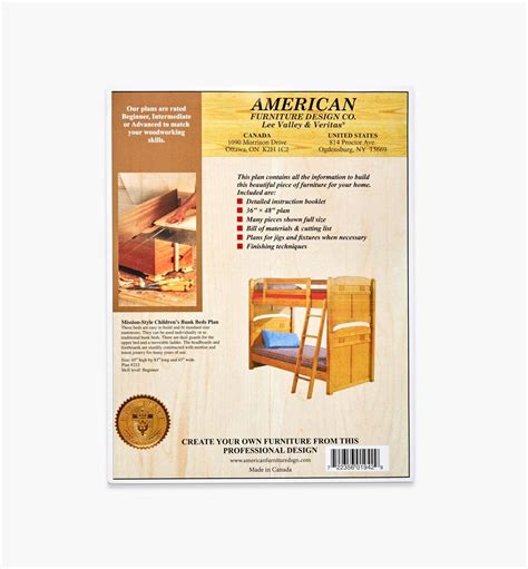 Lee-Valley-Bunk-Bed-Plans