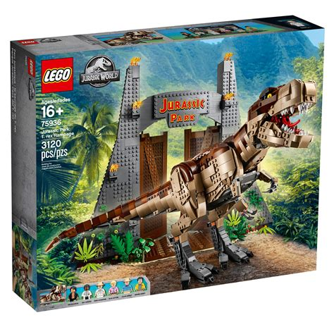 Lego Jurassic Park How To Build The T rex Cards