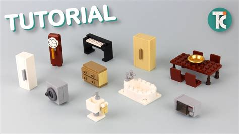 Lego how to build furniture Image
