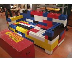 Best Lego how to build furniture