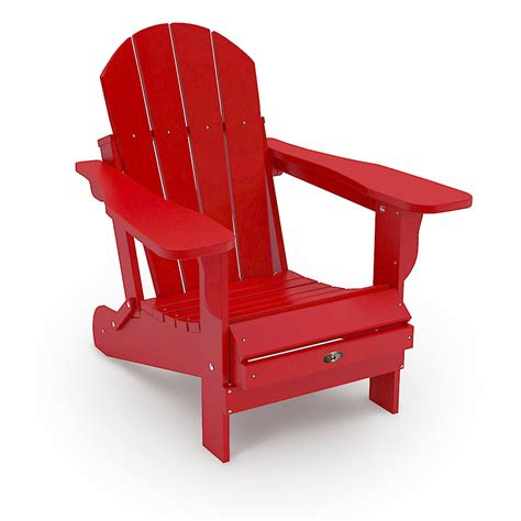 Leisure-Line-Adirondack-Chair-Red