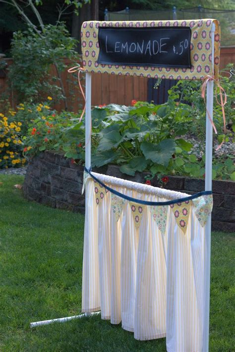 Lemonade Stand Build Diy Pvc Projects
