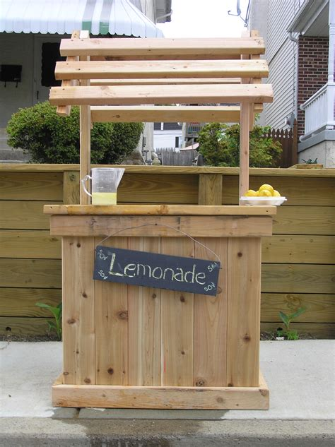 Lemonade Stand Building Plans