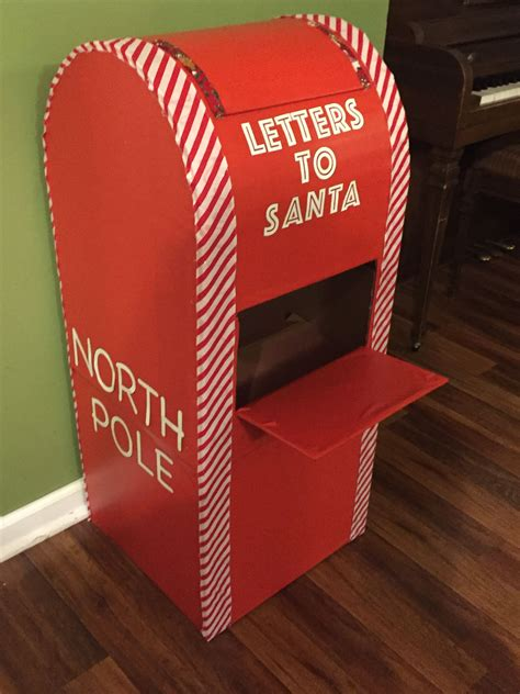Letters To Santa Mailbox Diy