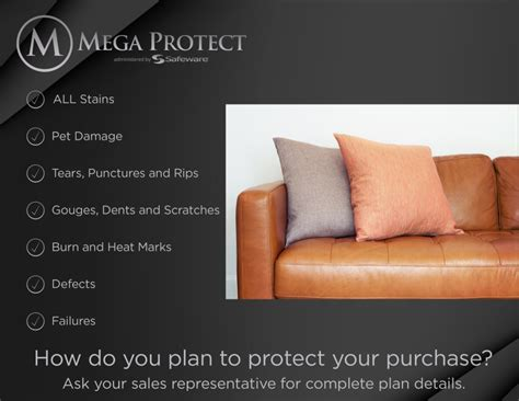 Levin Furniture Protection Plan
