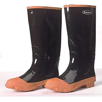 Liberty DuraWear Rubber Fabric Lined Protective Hip Wader Boot with Reinforced Knee and Front