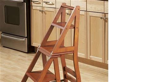 Library Ladder Chair Plans Free