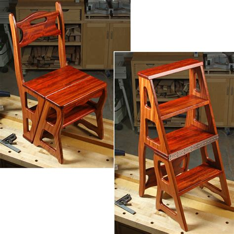 Library Step Stool Design Plans