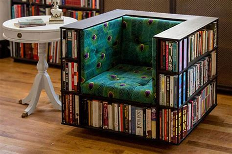 Library-Bookcase-Chair-Diy