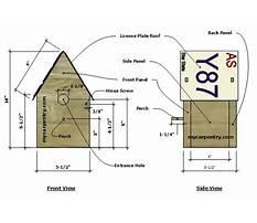 Best License plate birdhouse plans.aspx