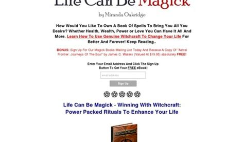 @ Life Can Be Magick Review  Lifecanbemagick Com Review.