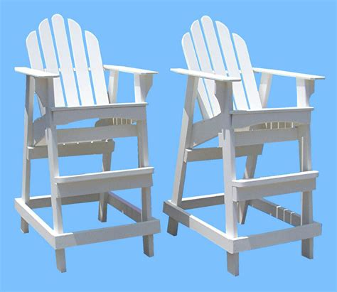 Lifeguard Adirondack Chair Plans