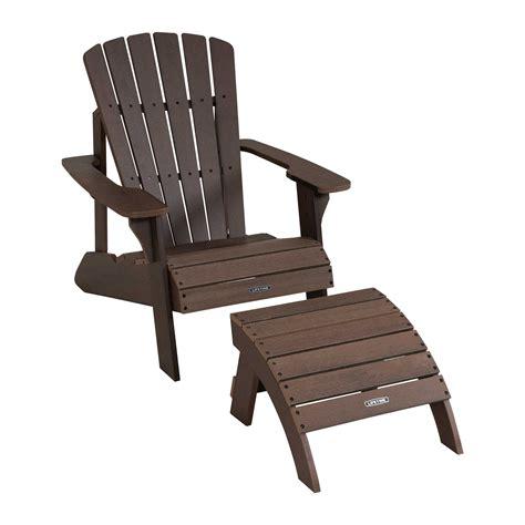 Lifetime-Adirondack-Chair-Ottoman