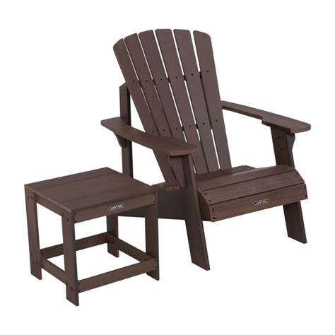 Lifetime-Adirondack-Chair-Table