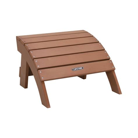 Lifetime-Adirondack-Chair-With-Ottoman