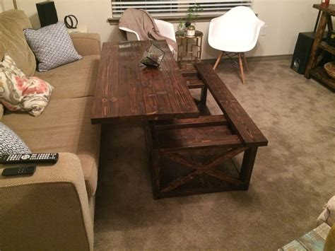 Lift Top Coffee Table Plans Ana White Diy