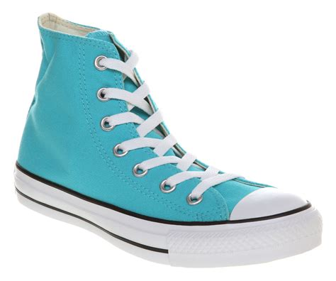 Light Blue Converse Sneakers