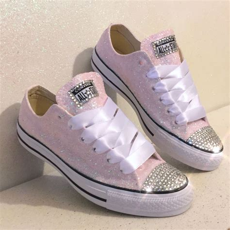 Light Pink Converse Sneakers