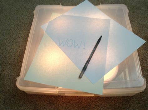 Light Tracing Table Diy Underneath