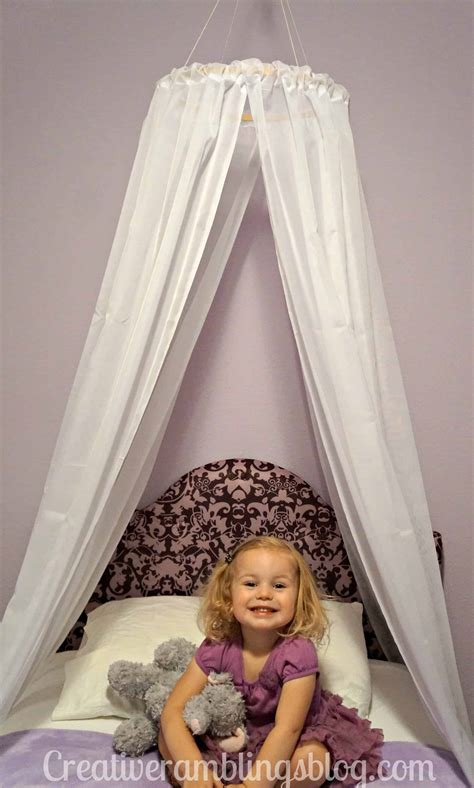 Light Up Bed Canopy Diy Princess