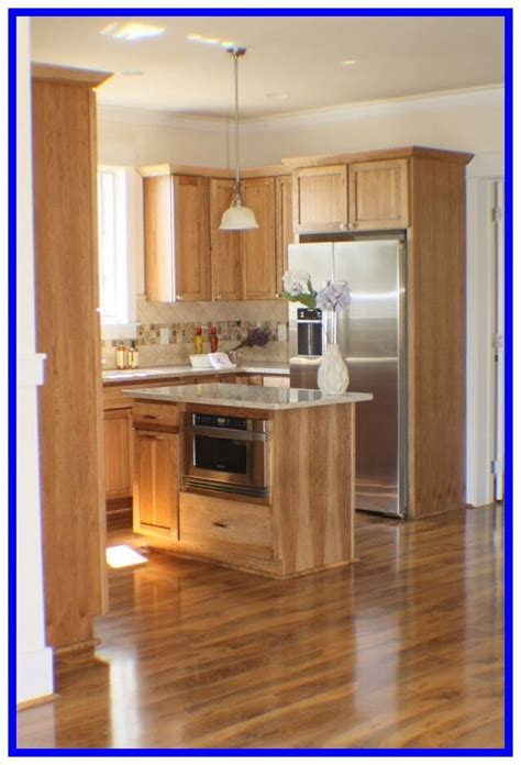 Light Wood Grain Cabinets
