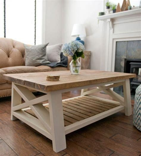 Light-Wood-Farmhouse-Coffee-Table