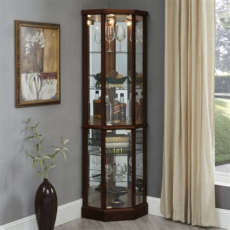 Lighted Curio Cabinets Under 30000