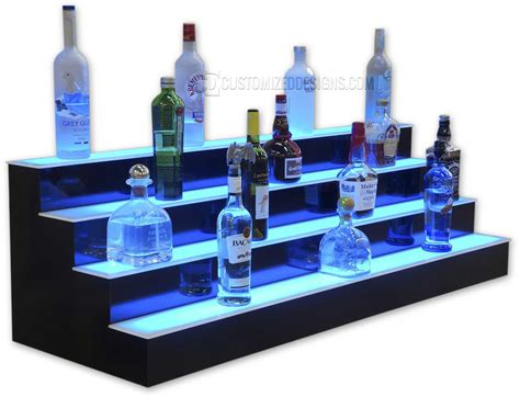 Lighted Liquor Shelf Plans