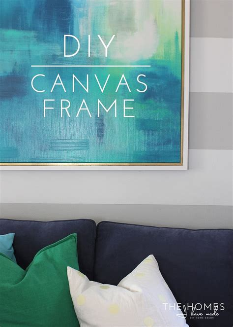 Lighted Poster Frame Diy Canvas
