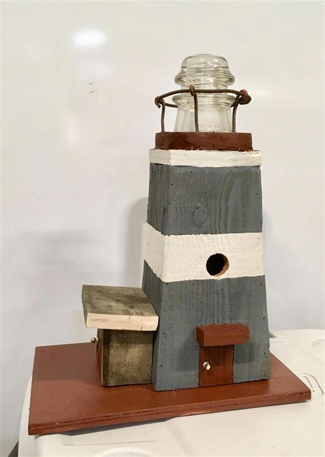 Lighthouse Birdhouse Woodworking Plans