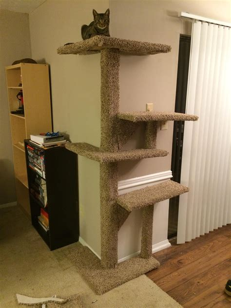 Lighthouse Cat Tower Plans Do it yourself