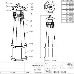 Lighthouse Plans Free Download