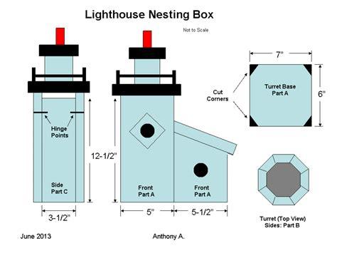 Lighthouse-Birdhouse-Plans