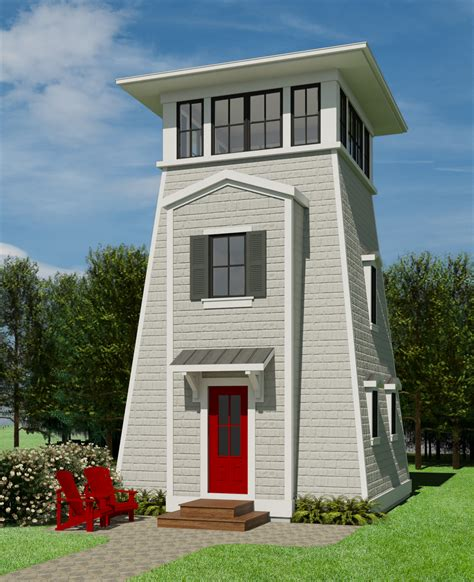 Lighthouse-Tiny-House-Plan