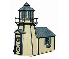 Best Lighthouse playhouse plans